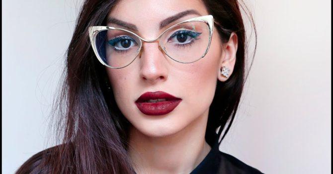 Maquiagem Valoriza O Visual De Quem Usa óculos