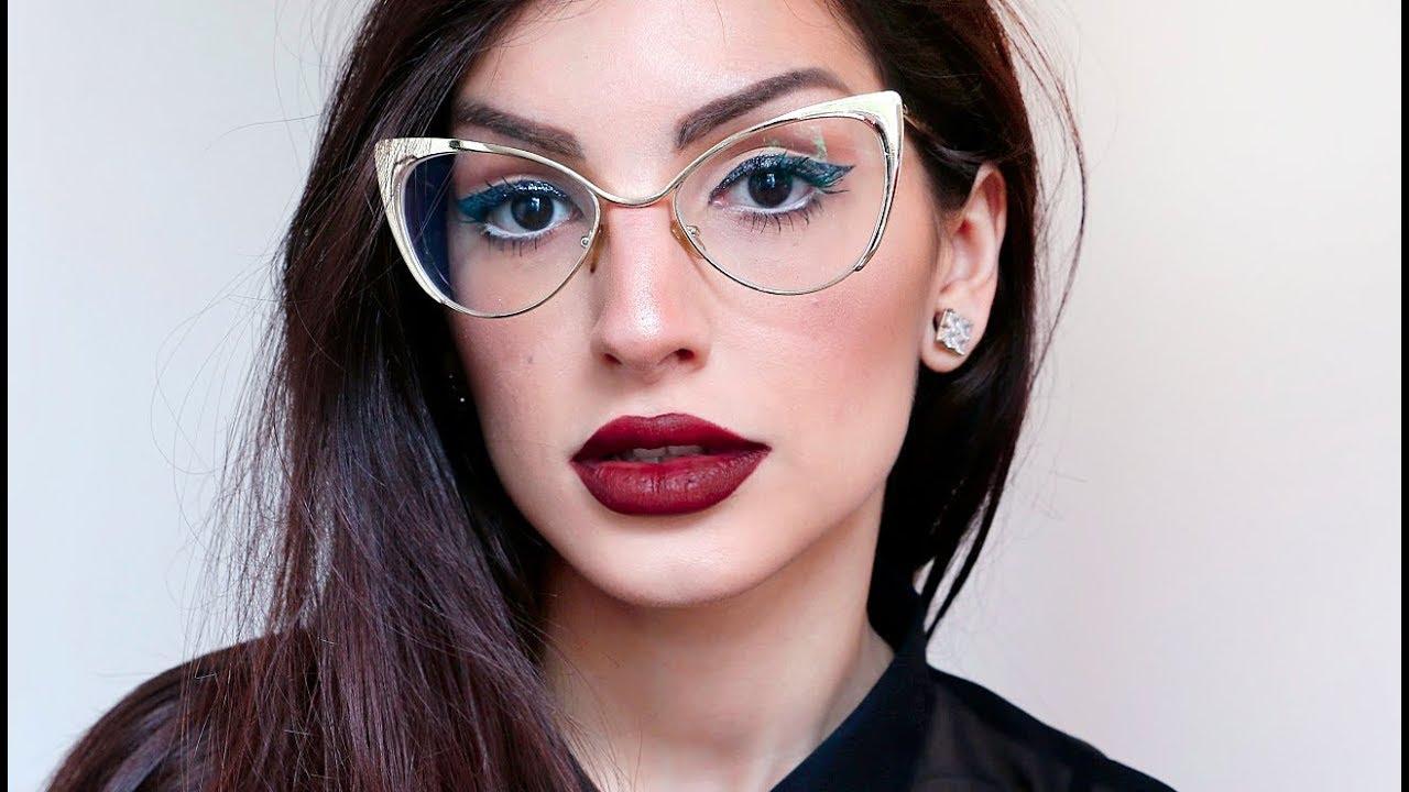 Maquiagem valoriza o visual de quem usa óculos - Blog Unicpharma 9a9da43faa