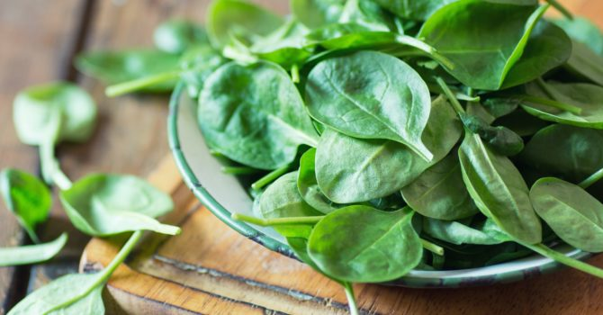 Espinafre Protege O Sistema Nervoso E Melhora A Digestão