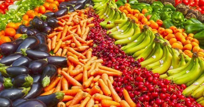 As Cores Dos Alimentos E Seus Benefícios