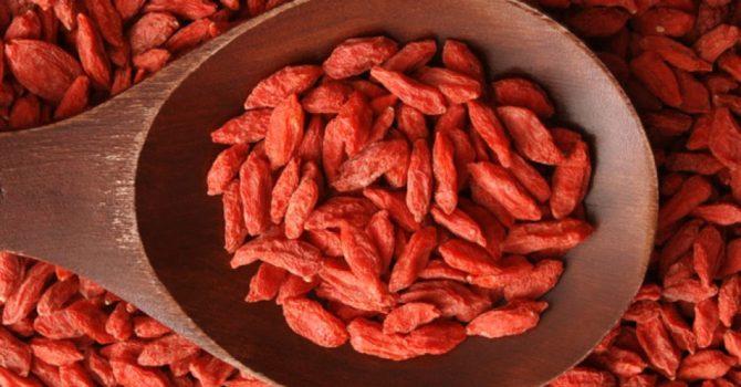 Goji Berry Tem Ação Antioxidante E Anti-inflamatória