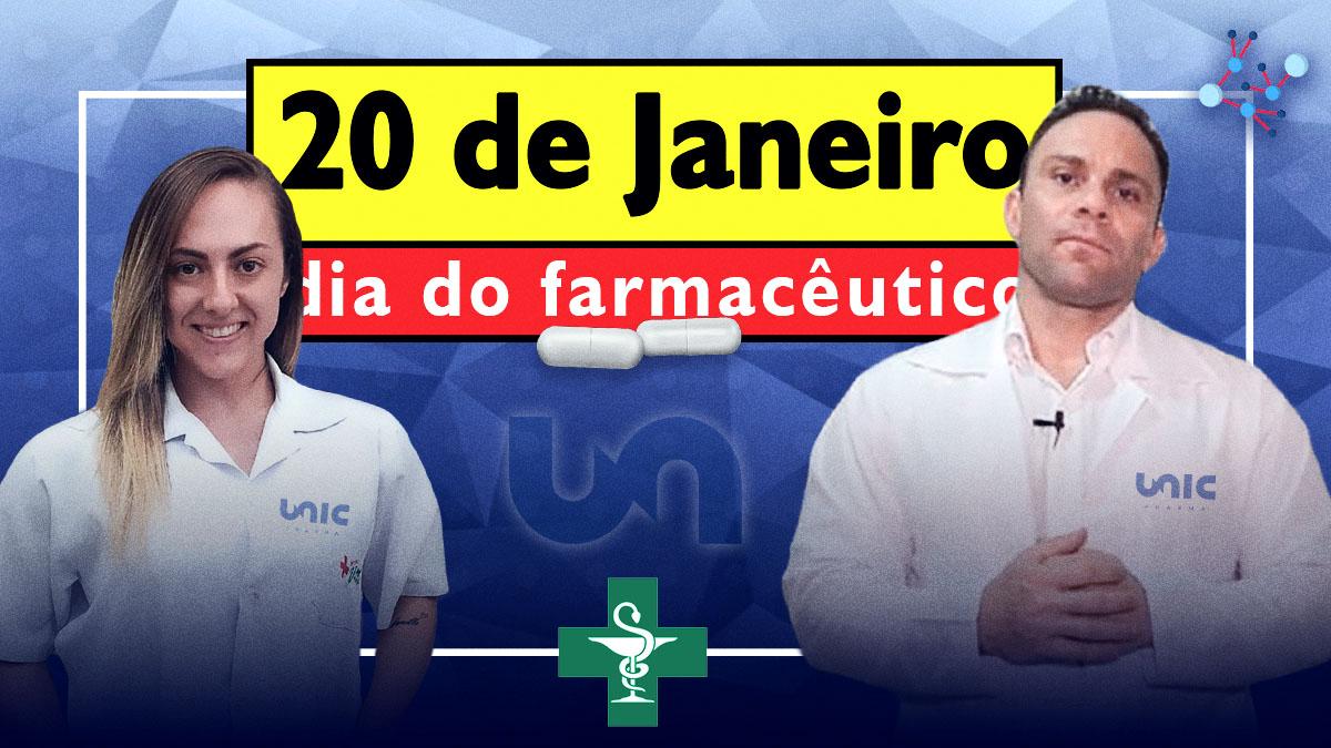 Dia Do Farmacêutico - Mário Mattiacci E Elaine Vitta Ressaltam A Importância Da Profissão