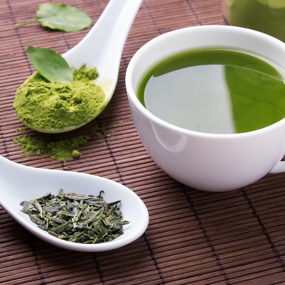 8 Variedades Chá Verde