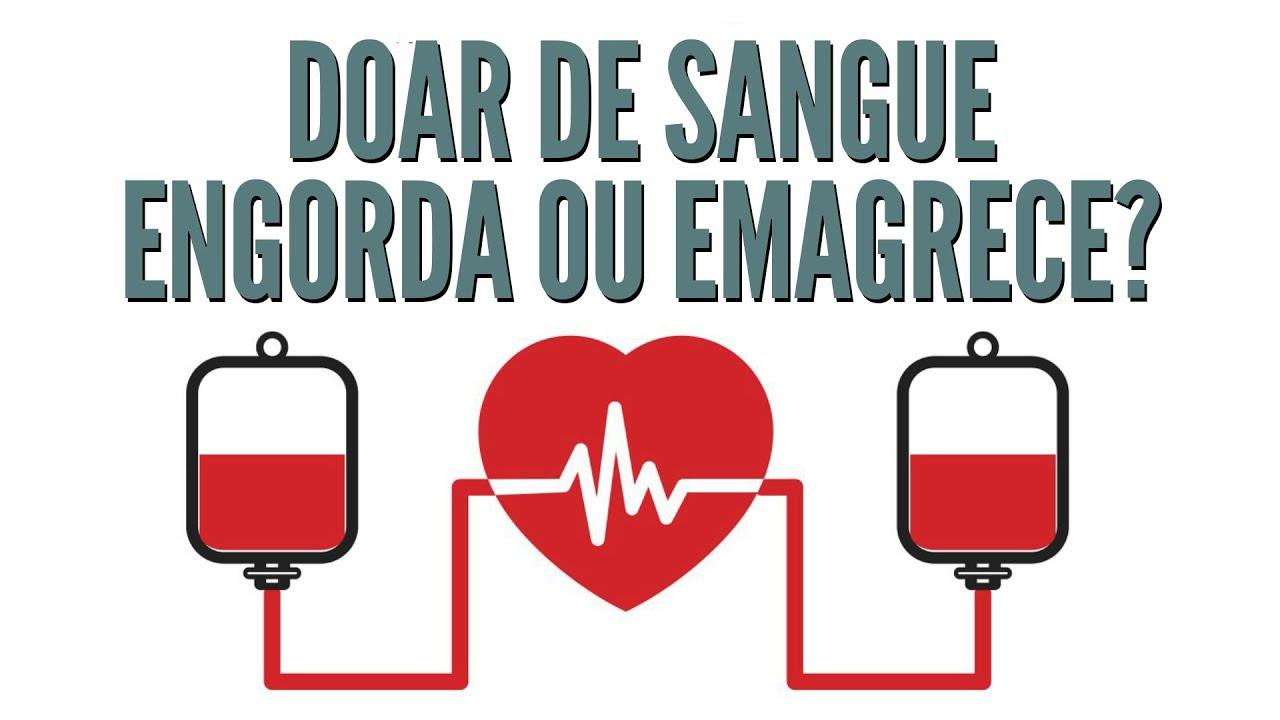 Doar Sangue Emagrece (Foto: Pró Vita)